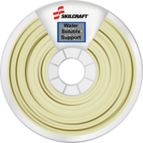SKILCRAFT 3D water Soluble Support Filament Natural Spool